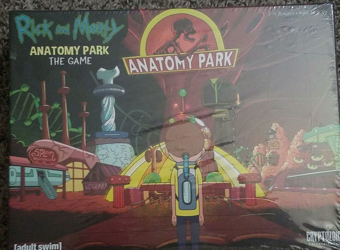 Rick and Morty Anatomy Park Board Game - Cryptozoic Entertainment [adult  swim]