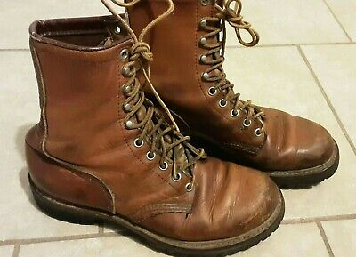 Vintage Red wing Irish Setter Sport Men's Boots Brown Leather sz 6.5