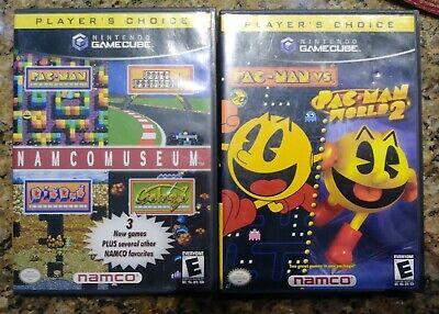 Nintendo Gamecube Namco Museum Pac Man World