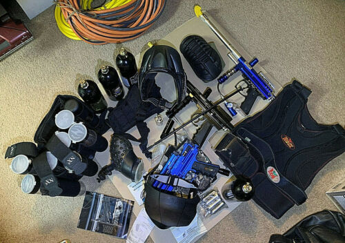 PAINTBALL LOT..GUNS AND MORE. SOME NEW.
