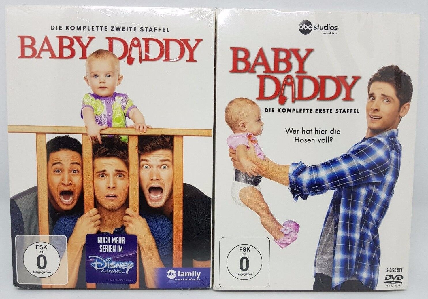 Baby Daddy Staffel 1 + 2 Collection NEU OVP