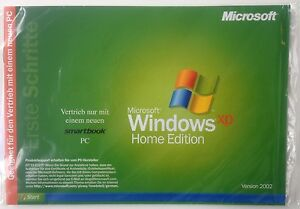 Microsoft Windows XP Home Edition OEM Neu und OVP Deutsch Vollversion