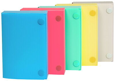 C-line Polypropylene Index Card Case 3 X 5 Inches Colors May Vary