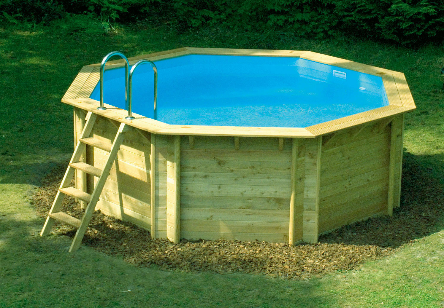 How to make a wooden swimming pool ebay for Wooden pool