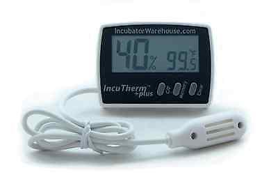 IncuTherm Plus™ | Digital Egg Incubator Thermometer Hygrometer w/ Remote Sensor