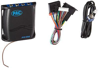 GM auxiliary audio input adapter. Add aux iPod MP3 player to factory radio ()