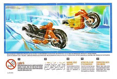Komplettsatz Motorradrennen Boys SE052 und SE054 mit 2 BPZ aus Indien
