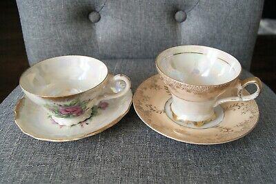 Blessing Set Vintage Teacup Candle