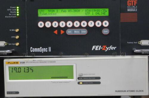 Fluke 910R GPS Controlled Rubidium Frequency Standard, Good!  30 day ROR