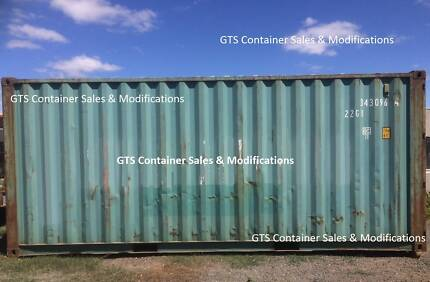 New and Used Shipping Containers for sale delivered to Lancefield