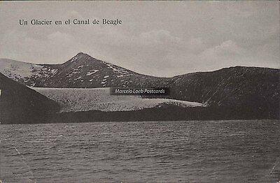 Chile Un Glacier En El Canal De Beagle