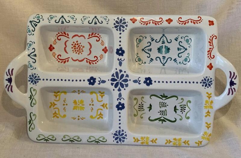 Nordic Ware Ceramic Collection Scandinavian 9x12 Dish 4 Mini Bread Loaf Pan