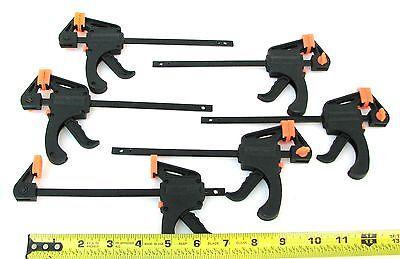 6pc Set Quick Release Mini Sliding Bar Clamps That Grip