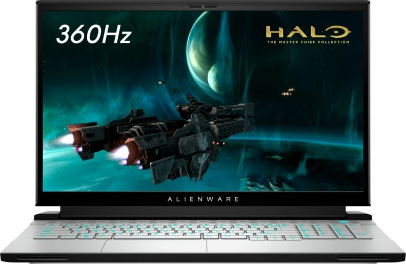 "Alienware - m17 R4 - 17.3"" FHD Gaming laptop - Intel Core i7 - 16GB Memory -..."