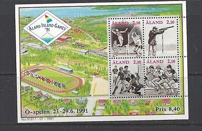 FINLAND - ALAND - 58 - MNH - 1991 -  ALAND ISLAND GAMES