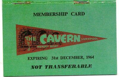 CAVERN CLUB Liverpool Beatles 1960s Retro Old Vintage Book Green Historic Pop UK