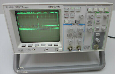 Agilenthp 54610b Oscilloscope Tested And Working