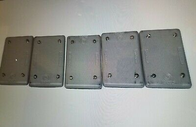 New Box Of 5 Egs Appleton Mall Iron F-fd Cast Covers Fsk-1b-c