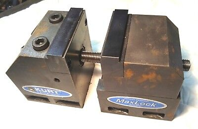 3-12 Kurt Mx350 Maxlock 5 Axis Anglock Cnc Mill Machine Vise Milling Clamp Vice