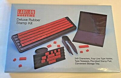 Labelon Noesting Deluxe Rubber Stamp Kit Md-12