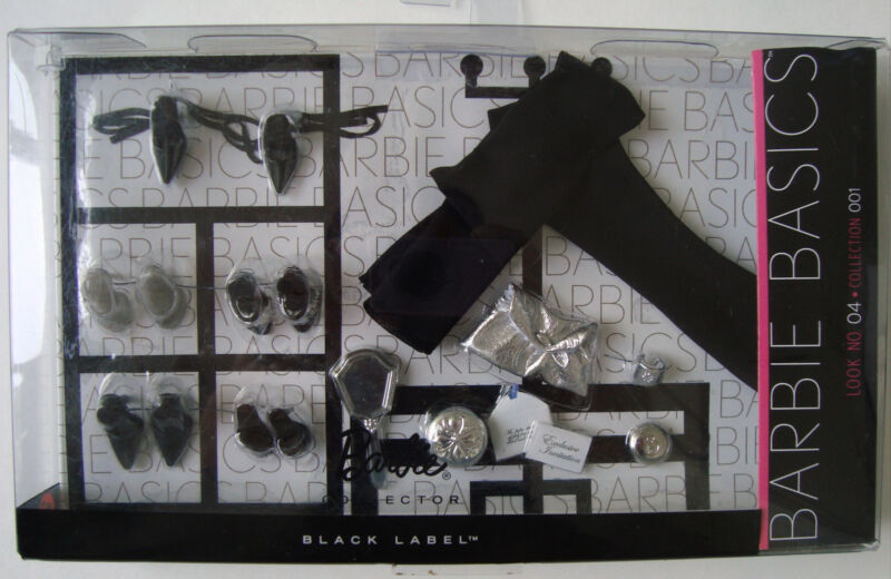 Barbie Basics LOOK NO 04 Collection 001 Accessory Pack Black Label