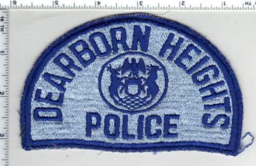 Dearborn Heights Police (Michigan) Uniform Take-Off Shoulder Patch early 1980