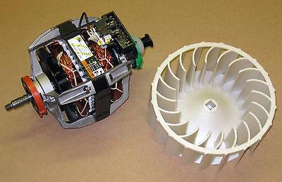 COMBO3 279787  Dryer Motor 697772 Blower Wheel for Whirlpool Kenmore -