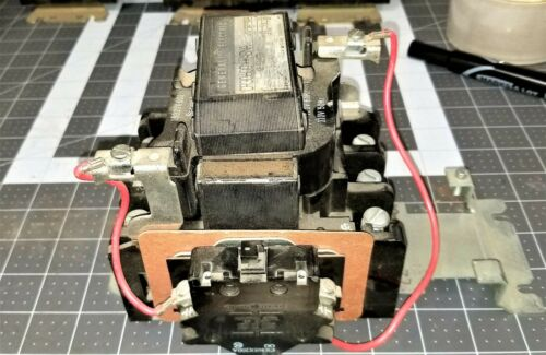 GE Size 2 Starter Contactor CR306D002 ABNA Tested Working Pull [Z3B1]
