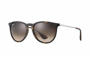 c1e708f3f7015 Ray-Ban Erika Classic Sunglasses RB4171 865 13 54-18 Brown Gradient ...