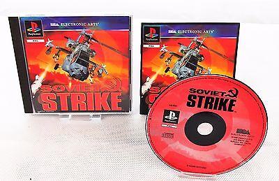 PS1 Soviet Strike / Anleitung & OVP / Playstation 1 Spiel online kaufen
