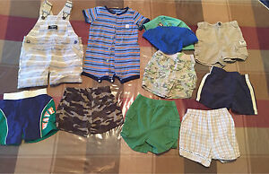 Boys size 12 month summer clothes Lot #2