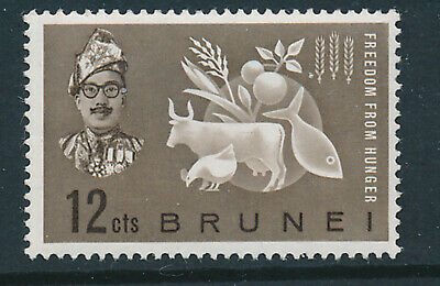 BRUNEI 1963 FREEDOM FROM HUNGER CROWN AGENTS OMNIBUS  MNH