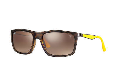 Ray-Ban RB4228M F60913 Sunglasses Tortoise-Yellow Frame & Brown Gradient Lenses