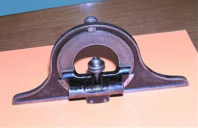 Vg. L. S. Starrett - Patent Aug 7 1883 - Square Protractor Head