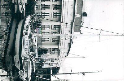 American Yacht Faith in st katherine's dock 1995 ship photo