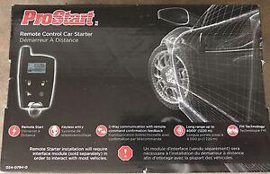 Pro start, car starter