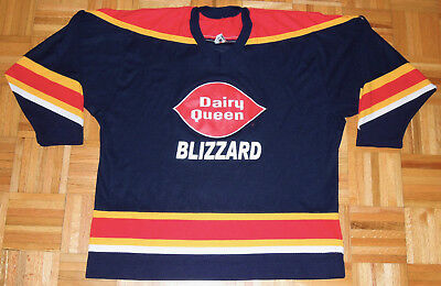 a0fc3345544 Dairy Queen Blizzard CCM Hockey Jersey #7 Olympics Canadian XL Vintage 90s  RARE