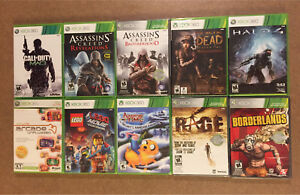 Lot of 10 Brand New Sealed Xbox 360 Video Games, Lego Movie...