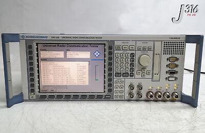 22821 Rohde Schwarz Universal Radio Communication Tester 1100.0008.02 Cmu200