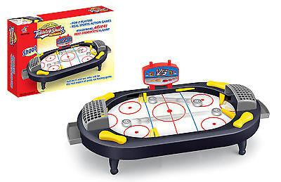 ICE HOCKEY MINI TABLE TOP KIDS TOY GAME FUN SET DESKTOP LIGHTWEIGHT AND PORTABLE