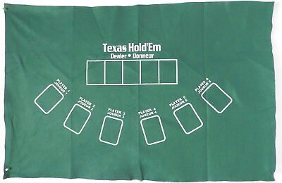 Poker Texas Hold'em Table Top Layout 36