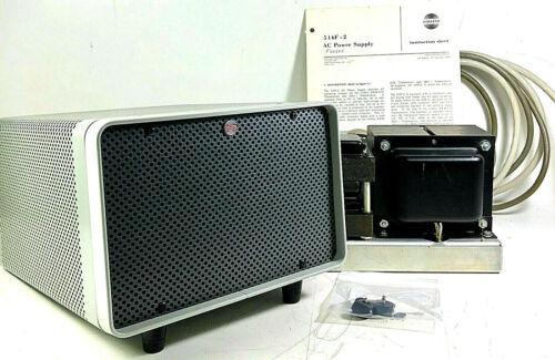 Collins 516F-2 S-Line Power Supply w/RE Round Emblem Cabinet MINTY 58K Serial #