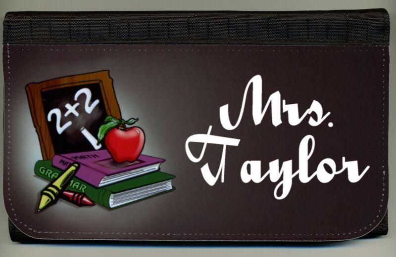 Personalized Custom Teacher Grade School Ladies Wallet Credit Card Holder NEW