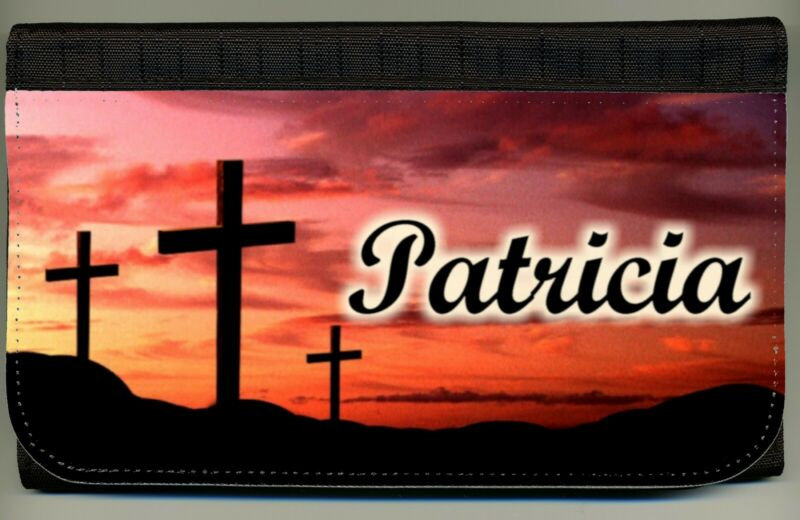 Personalized Custom Religious Christian Ladies Wallet Credit Card Coin Holder NW