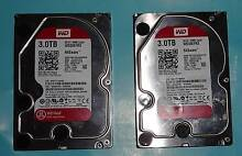 WD Red 3TB SATA 3.5 NAS Hard Disk Drive HDD WD30EFRX Network grad Banksia Rockdale Area Preview
