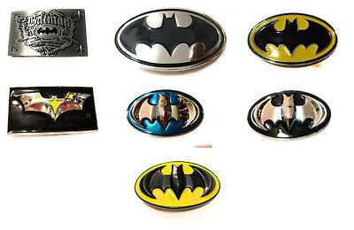 Batman Logo Belt Buckle - Classic Logo Batman belt buckle many styles ! DC Comics cosplay collectible !USA