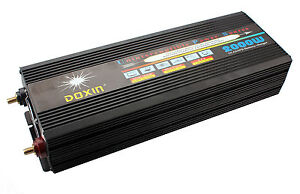DOXIN 2000W DC12V to AC220V Power Inverter With Charger Converter Car Electronic