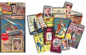 1950s HOUSEHOLD MEMORABILIA PACK - Reminiscence Dementia or School Activity