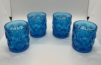 LE SMITH MOON AND STARS TUMBLERS 4 PIECE SET