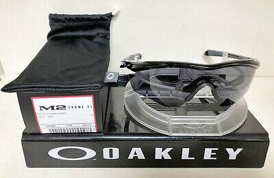 Oakley Sunglasses M2 FRAME XL POLISHED BLACK/GREY (Oakley M2 Frame Sunglasses)